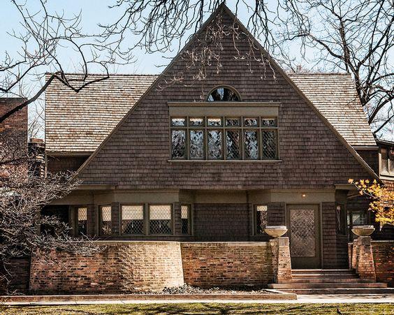 frank lloyd wright ses r alisations chicago et dans l 39 illinois archigood. Black Bedroom Furniture Sets. Home Design Ideas